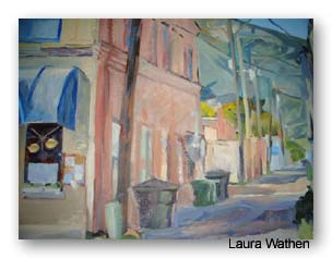 Laura Wathen painting